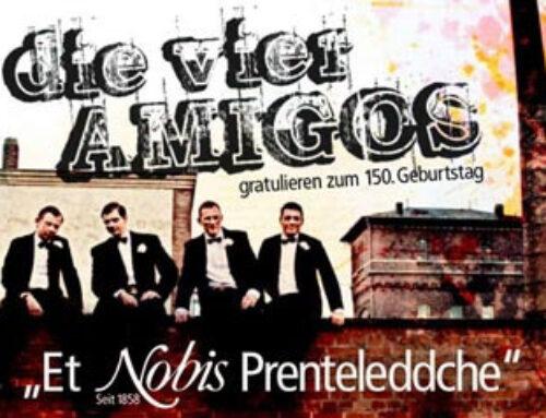 """Die 4 Amigos mit """"Et Nobis Prenteleddche"""""""