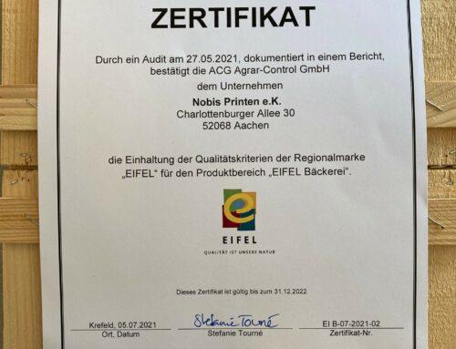 EIFEL-Zertifikat